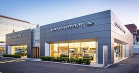 Land Rover Showroom EFSG